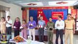 Quảng Nam: CSGT tuyên truyền về ATGT cho cán bộ cựu chiến binh