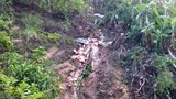 Xe tải lao xuống vực ở Sơn La, một người chết, hai người bị thương