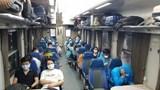 Đường sắt bố trí thêm tàu chuyên biệt đưa người dân ở TP Hồ Chí Minh về nhà