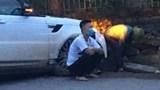 """Tai nạn giao thông mới nhất hôm nay (2/8): """"Xế hộp"""" nổ lốp và gãy trục khi đang đi, """"giang hồ mạng"""" Huấn """"hoa hồng"""" may mắn thoát nạn"""