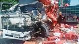 Tai nạn giao thông mới nhất hôm nay (12/8): Xe tải đối đầu container trên đường Hồ Chí Minh, tài xế tử vong tại chỗ