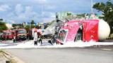 Tai nạn giao thông mới nhất hôm nay (20/9): Lùi xe tải vào nhà thiếu quan sát, nam tài xế cán tử vong con trai