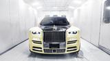Rolls-Royce độc nhất vô nhị gắn cú vàng, kim cương