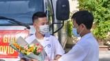 Cán bộ y tế Nghệ An lên đường chi viện cho tâm dịch Bắc Giang