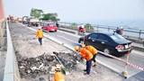 Hà Nội: Phân luồng tổ chức giao thông cho các phương tiện qua cầu Chằm Mè