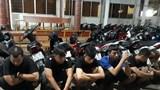 Vĩnh Long: Bắt nhóm thanh niên tụ tập đua xe trái phép