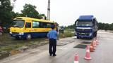 Hơn 1.100 xe chở quá tải bị xử phạt trong tháng 5