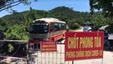 Dùng xe buýt chống nóng cho các chốt phòng dịch tại TP Vinh