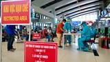 Xét nghiệm nhanh Covid-19 cho hành khách tại sân bay Nội Bài