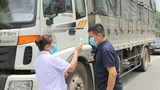 """Tạo """"luồng xanh"""" cho xe vận chuyển hàng hóa qua chốt kiểm soát đến TP Hồ Chí Minh"""