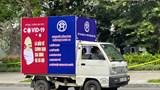 Hà Nội tổ chức đoàn xe mô hình tuyên truyền phòng, chống dịch COVID-19
