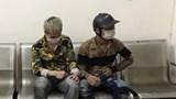 Chốt kiểm dịch phát hiện 2 nam thanh niên điều khiển xe máy tàng trữ ma túy