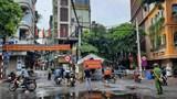 Phong toả 210 hộ dân phường Giáp Bát liên quan đến 4 ca F0 là lái xe đường dài TP Hồ Chí Minh