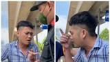 Hà Nội: Lái xe máy không đeo khẩu trang, không giấy đi đường còn cà khịa cảnh sát đánh nhau