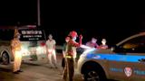 Xe cứu thương không chở bệnh nhân vẫn bật đèn ưu tiên