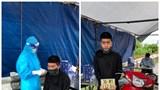 Trộm xe máy ở Thanh Hoá ra Hà Nội bị bắt giữ tại chốt kiểm soát Covid-19