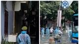 Hà Nội: Bảo vệ an toàn tài sản cho người dân di dời chống dịch tại phường Thanh Xuân Trung