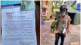 Hà Nội: Cảnh sát kiểm tra giấy đi đường, người đàn ông nói nhặt được và tự điền tên vào
