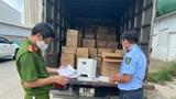 Hà Nội: Phát hiện 2 xe tải luồng xanh chở máy tạo Oxy không đảm bảo chất lượng