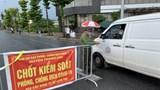 Huyện Thanh Oai lập 3 chốt kiểm soát liên ngành phòng, chống dịch
