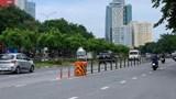 Hà Nội: Cần nhân rộng lắp đặt các ụ chống va đập giao thông