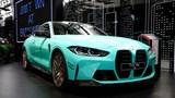 BMW M4 Competition mới trông khác lạ với lớp sơn màu xanh bạc hà