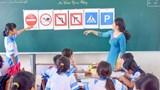 Đẩy mạnh giáo dục an toàn giao thông cho học sinh gắn với phòng, chống dịch