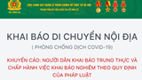 Hà Nội triển khai Cơ sở dữ liệu quốc gia về dân cư trong phòng, chống, dịch Covid-19