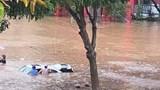 Phố cũng như sông, giao thông ở Lào Cai tê liệt