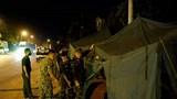 Hà Nội: Lực lượng chức năng xuyên đêm dựng chốt kiểm soát dịch bệnh Covid-19