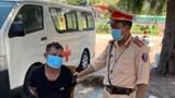 Điều khiển xe máy ăn trộm định thông chốt kiểm dịch thì bị bắt