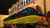 Đoàn tàu thứ 9 tuyến đường sắt đô thị Nhổn - Ga Hà Nội đã về đến Thủ đô