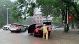 Trận mưa lịch sử và hành động đẹp của CSGT Hải Phòng