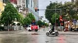 Tổ chức giao thông phố Trần Phú để thực hiện tháo dỡ công trình 8B Lê Trực
