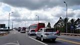 BOT cầu Rạch Miễu lại xả trạm vì ùn tắc