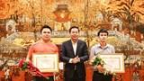 Hà Nội khen thưởng phóng viên và quần chúng dũng cảm bắt cướp