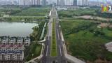 Sắp thông xe tuyến đường 8 làn xe nối 3 quận ở Hà Nội