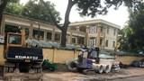 Phố Lương Định Của, quận Đống Đa: Vỉa hè thành bãi tập kết cống thoát nước