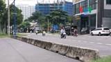 TP.HCM: Dải phân cách 'gài bẫy' người đi đường