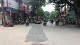 Phố Lương Định Của: Mặt đường nham nhở, nguy cơ tai nạn giao thông