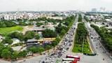 Thi công trường đua F1: Các phương tiện lưu thông thế nào trên đường Lê Đức Thọ - Lê Quang Đạo?