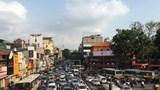Đường phố Hà Nội kẹt cứng dịp cận Tết
