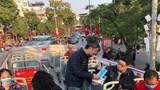 Hà Nội: Tăng cường phòng dịch viêm phổi Vũ Hán tại các đầu mối vận tải khách