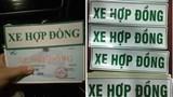 """Hà Nội: Hơn 20.000 lái xe taxi công nghệ đề xuất """"hoãn"""" dán chữ lên kính vì dịch Covid-19"""