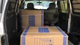 Xử phạt xe tải chở hàng hóa không rõ nguồn gốc