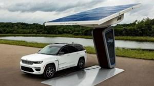 Jeep ấn định ngày ra mắt Grand Cherokee 4xe 2022