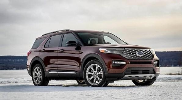 Giá xe ôtô hôm nay 18/8: Ford Explorer ưu đãi 45 triệu đồng
