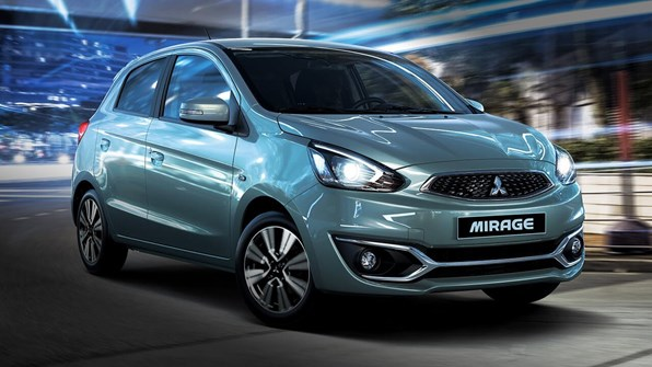Giá xe ôtô hôm nay 22/8: Mitsubishi Mirage dao động từ 380,5-450,5 triệu đồng