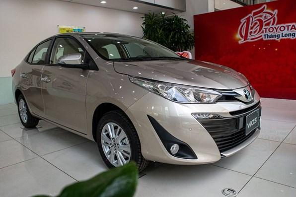 Giá xe ôtô hôm nay 29/8: Toyota Vios dao động từ 470 - 570 triệu đồng