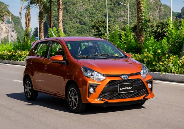 Giá xe ôtô hôm nay 25/9: Toyota Wigo dao động từ 352-384 triệu động